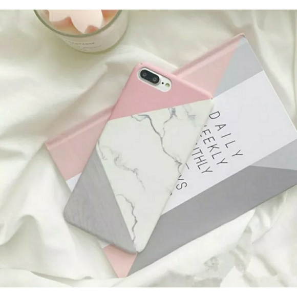 finest selection 5a139 6fbea iPhone X & 8 plus Geometric Marble Phone Case Boutique